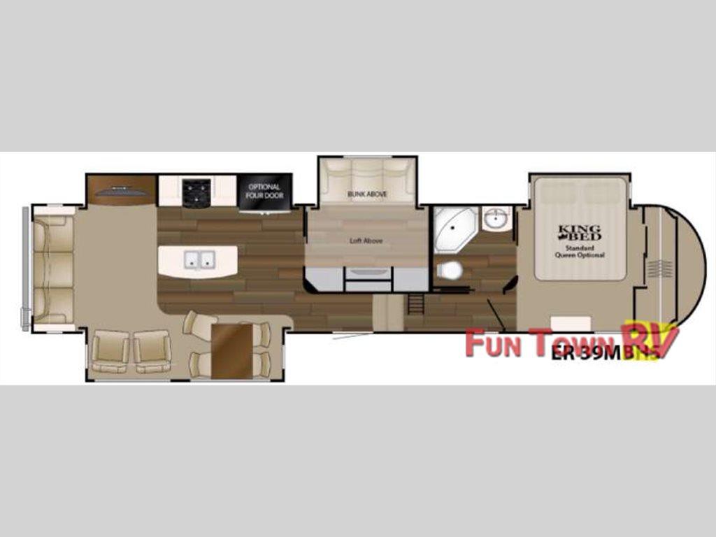 Heartland elkridge 39mbhs fifth wheel top notch luxury for Fifth wheel with bonus room