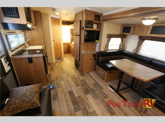 Forest River Rockwood Roo Expandable Travel Trailer Interior