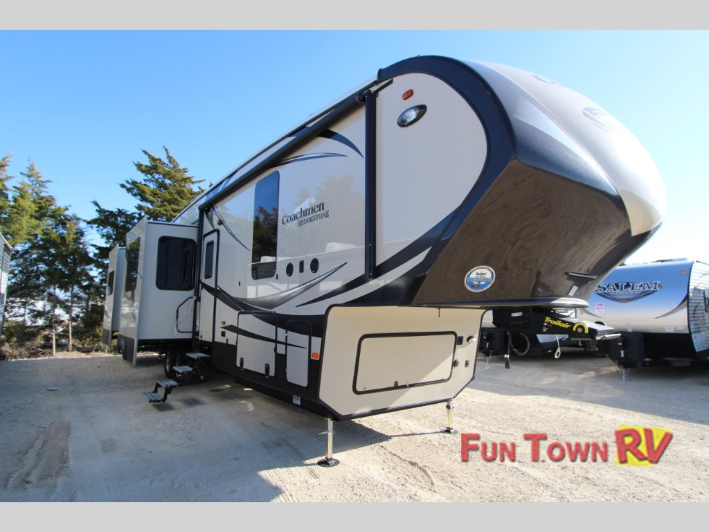Luxury rv exterior - Coachmen Brookstone 378re Fifth Wheel Year End Sale Price On Rv Luxury Funtown Rv Waco Blog