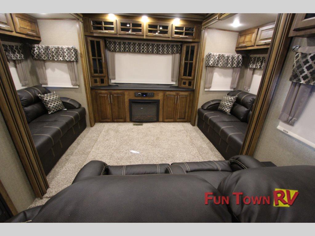 Coachmen Brookstone 378RE Fifth Wheel Living Area