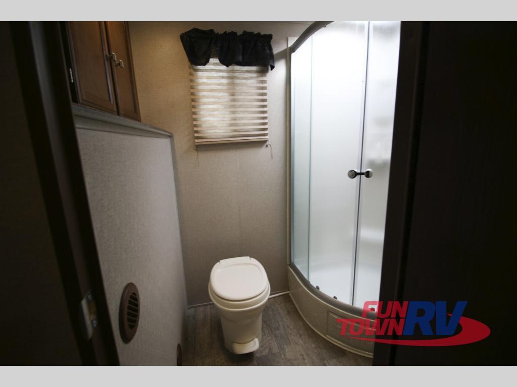 Coachmen Freedom Express Travel Trailer Rear Bathroom
